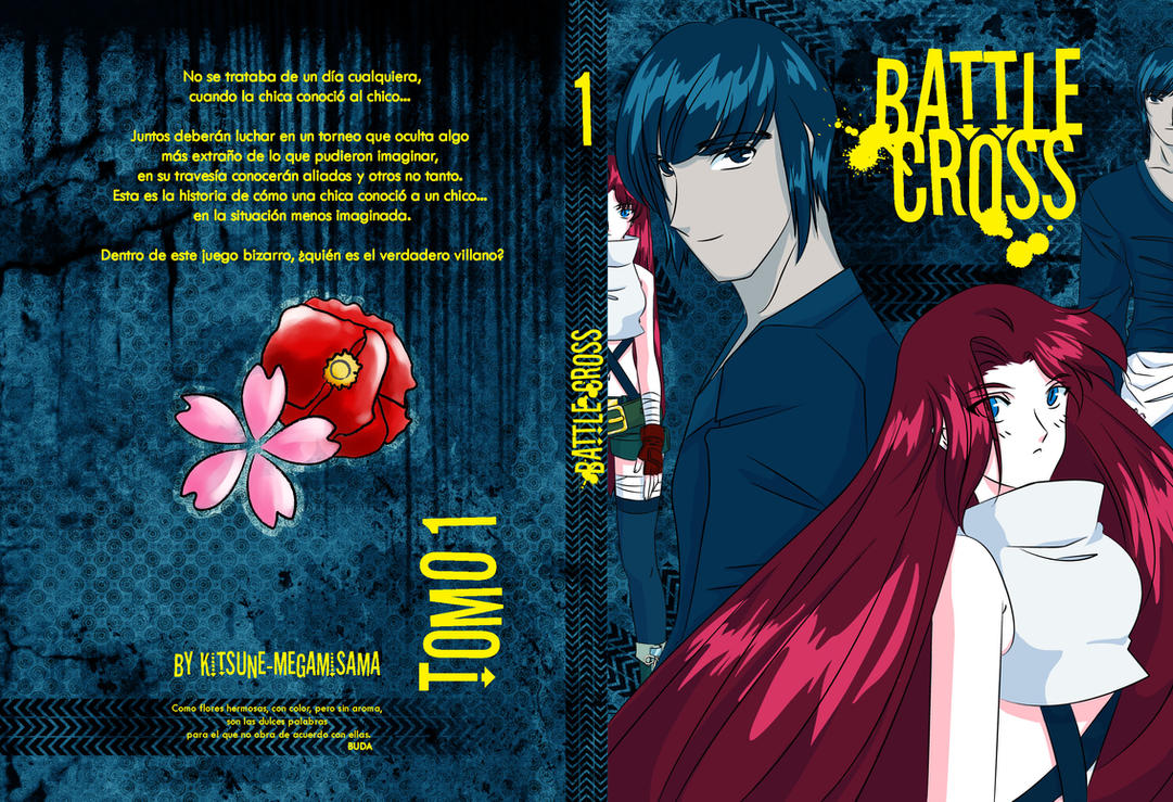Battle Cross Cover 1 by Kitsune-Megamisama