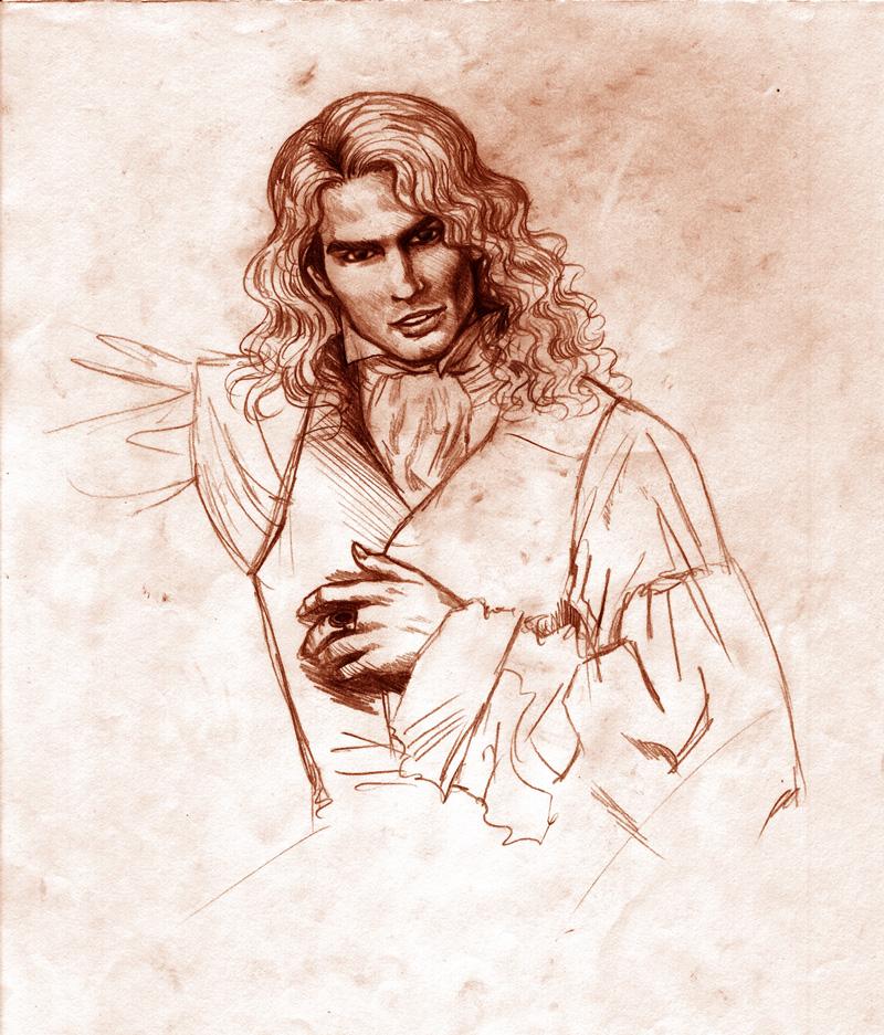 Ilustraciones de Crónicas Vampíricas Lestat_by_Orestes_Sobek