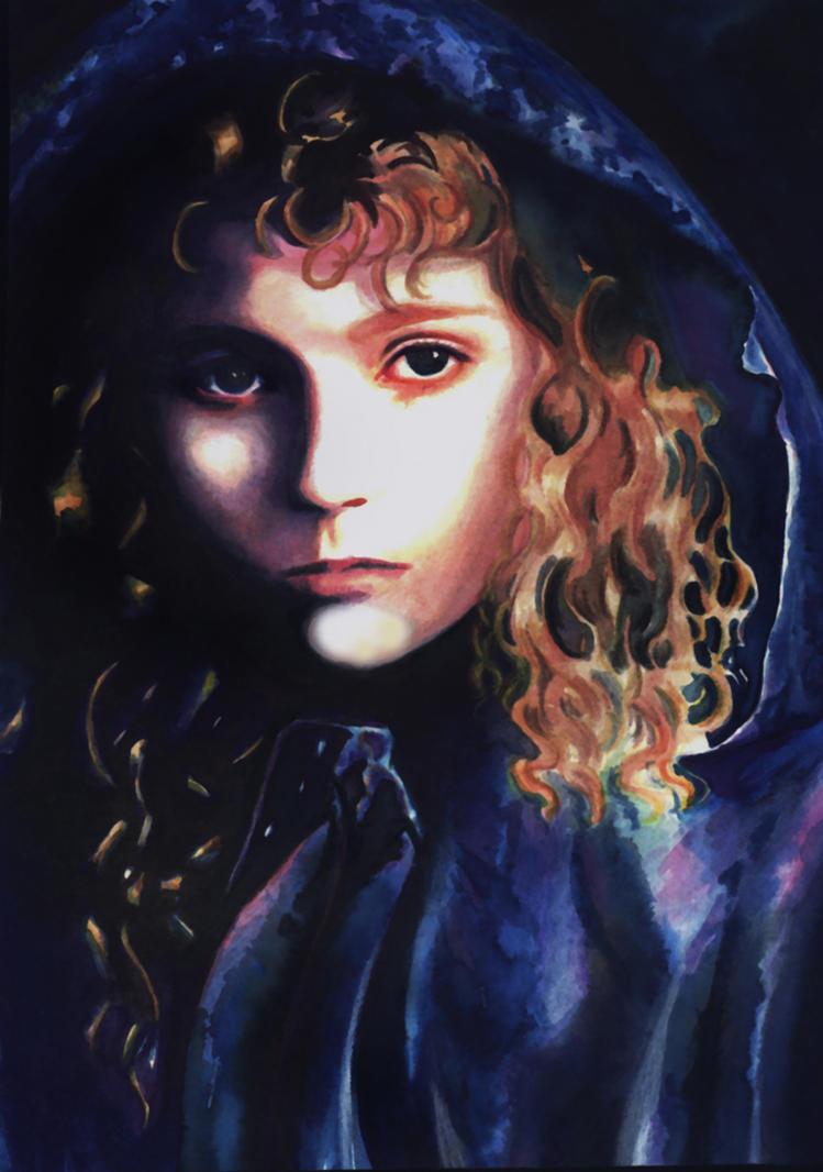 entrevista con el vampiro en oleo y acuarelas Claudia_by_Orestes_Sobek