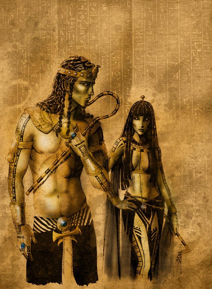 Dark Gods - Egypt 01 by Orestes-Sobek