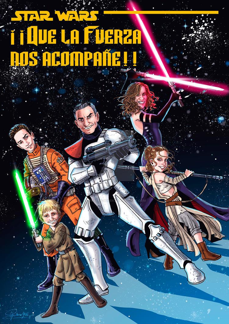 Star Wars Family by Orestes-Sobek