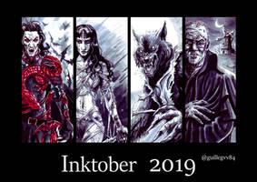Inktober 2018 #1 by Orestes-Sobek