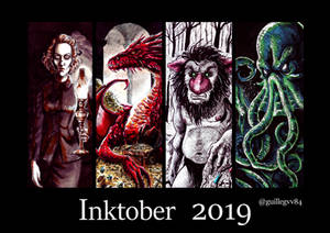 Inktober 2018 #4