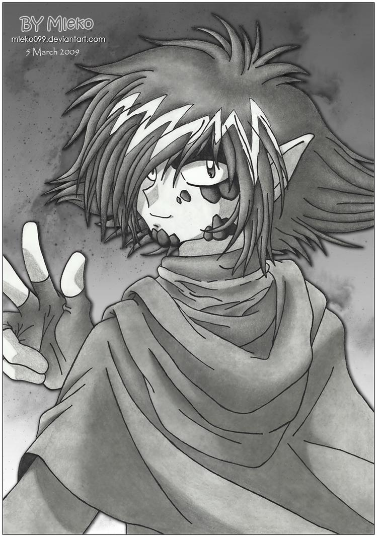 :: Sketch Practice Zelgadis :: by mleko099