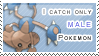 :: Stamp | Male Pokemon by mleko099