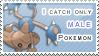 :: Stamp | Male Pokemon by mleko099