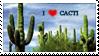 :: Stamp | I love cacti by mleko099
