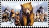 :: Stamp   Brother Bear by mleko099