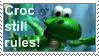 Croc still rules stamp