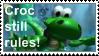 Croc still rules stamp by darkgex