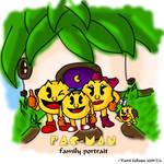 Pac-Man Family Portrait_color