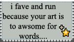 Fav and Run stamp