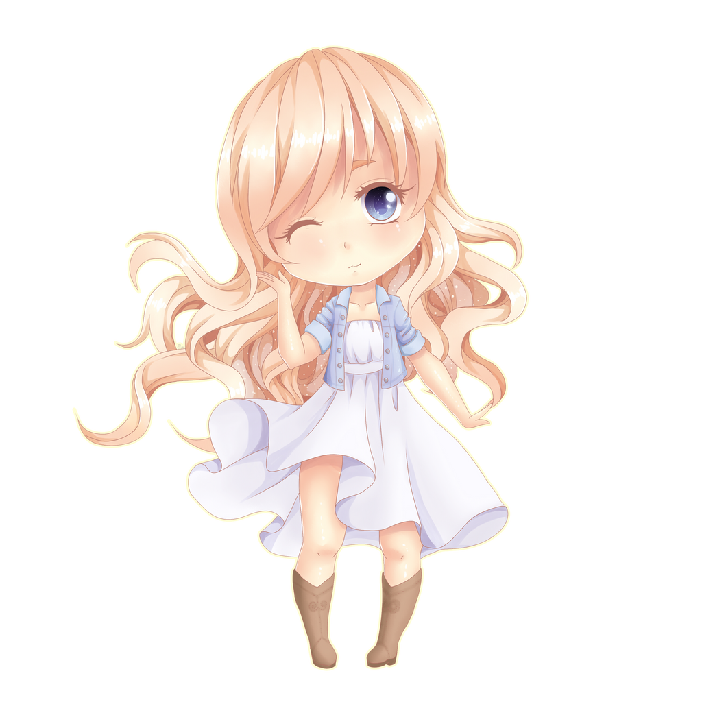 cute chibi girl by Shiimosa on DeviantArt