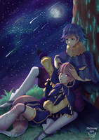 You are my only star by Shiimosa