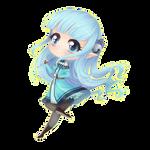 Blue magic [SPEEDPAINT] by Shiimosa