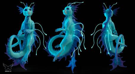 Little Leviathan [3D art]