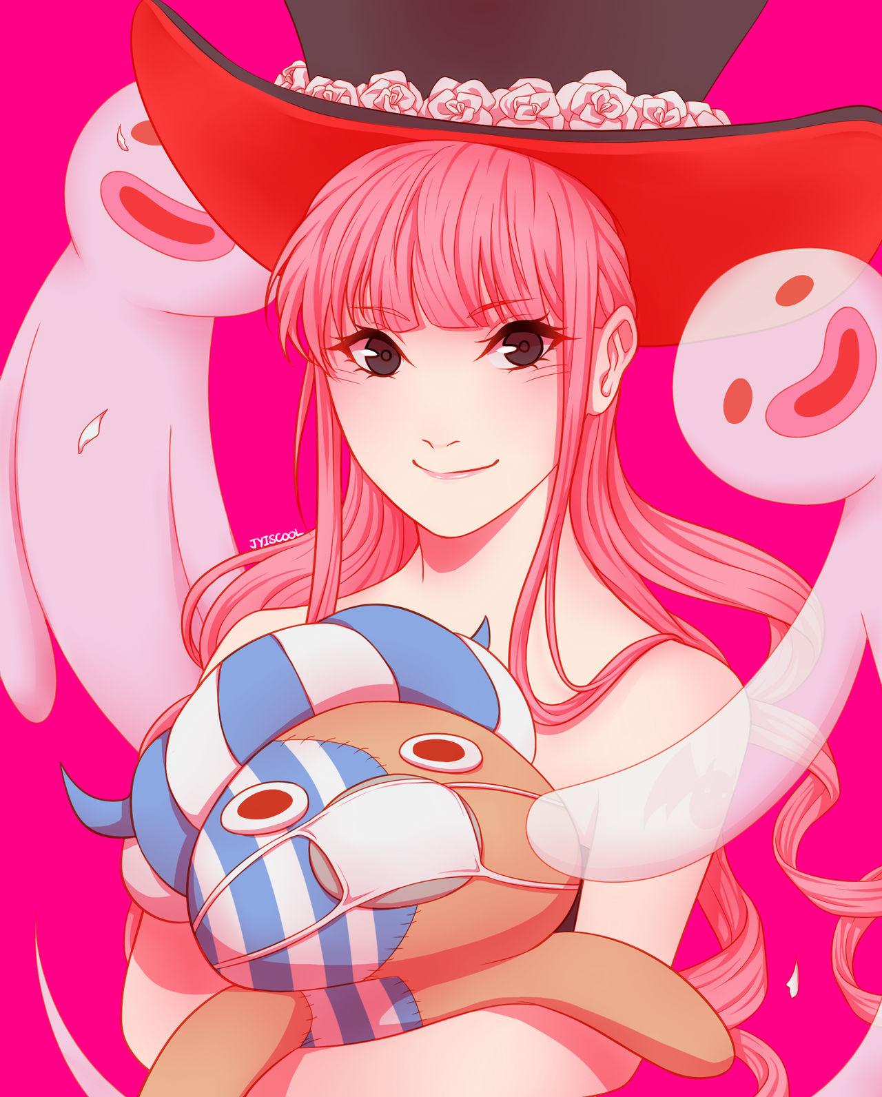 One Piece - Perona by Jyiscool on DeviantArt