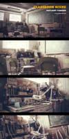 Classroom Scene by themeny