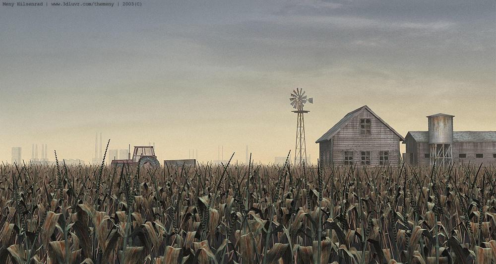 Corn Field by themeny