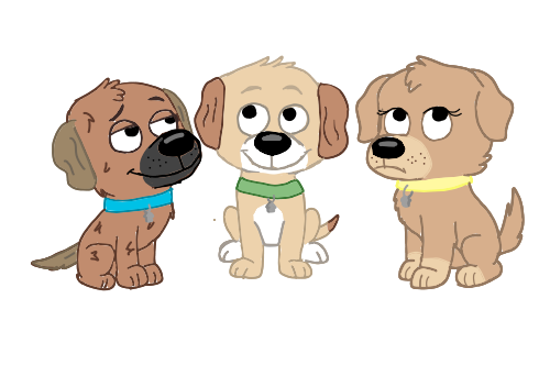 RalphxAllison puppies by Puppehlove5