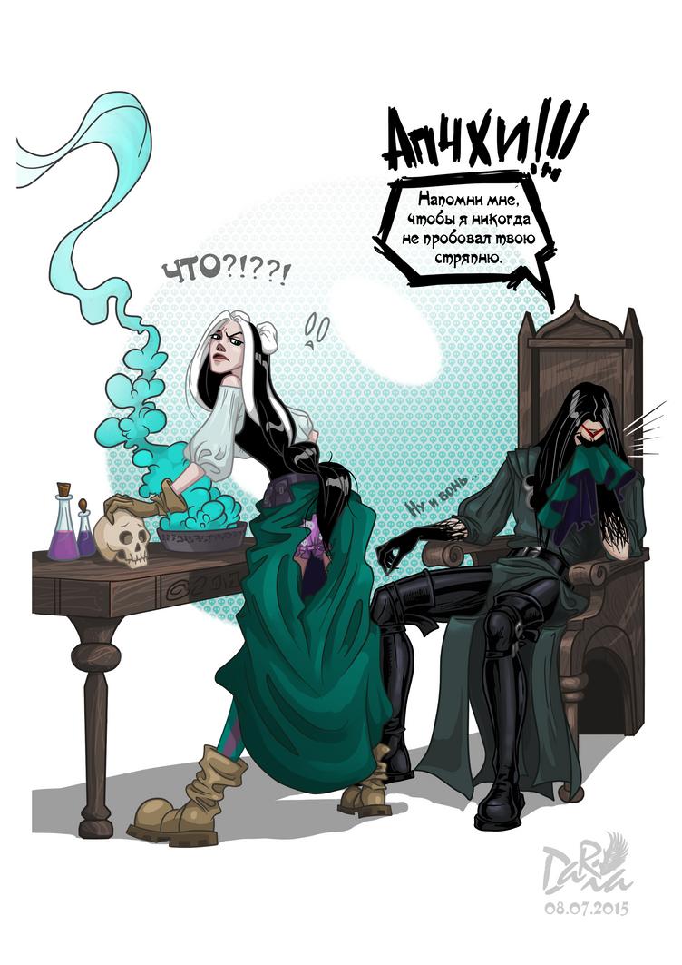 Nekro alchemy by DarianaLoki