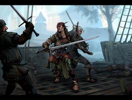 Witcher and Iorvet by DarianaLoki