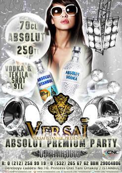 Absolut Party Club Versai Istanbul