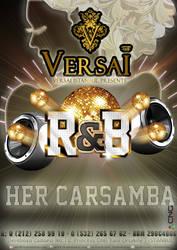 Club Versai istanbul - RnB Party Poster