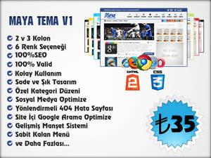 Wordpress Maya Theme v1