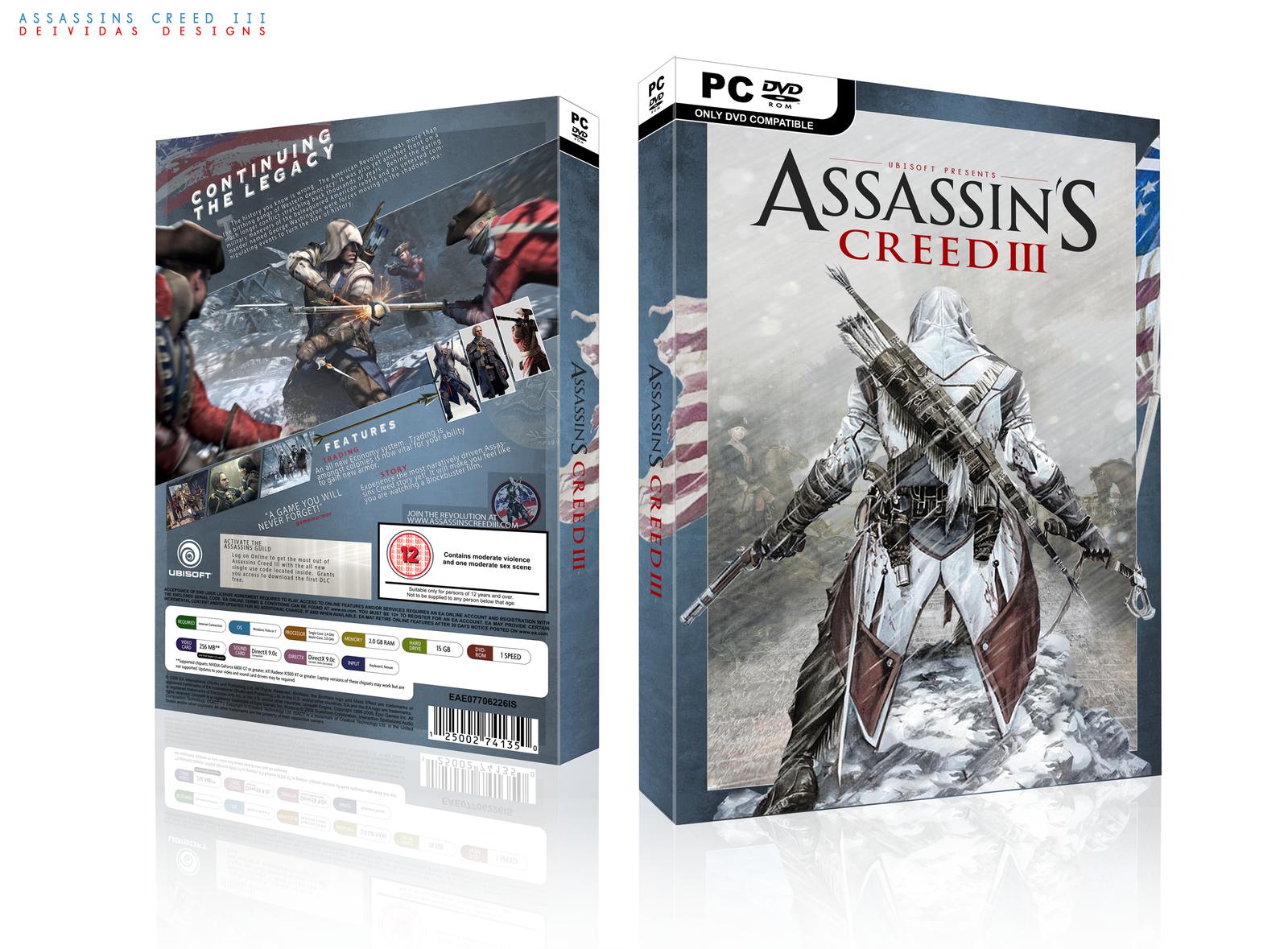 Assassins Creed III by Deividas12