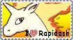 I love Rapidash by Renotara