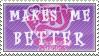 MLP:FiM makes me better stamp by CelestiaTheGreatest