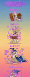 Life cycle of Star Swirl the Bearded by CelestiaTheGreatest