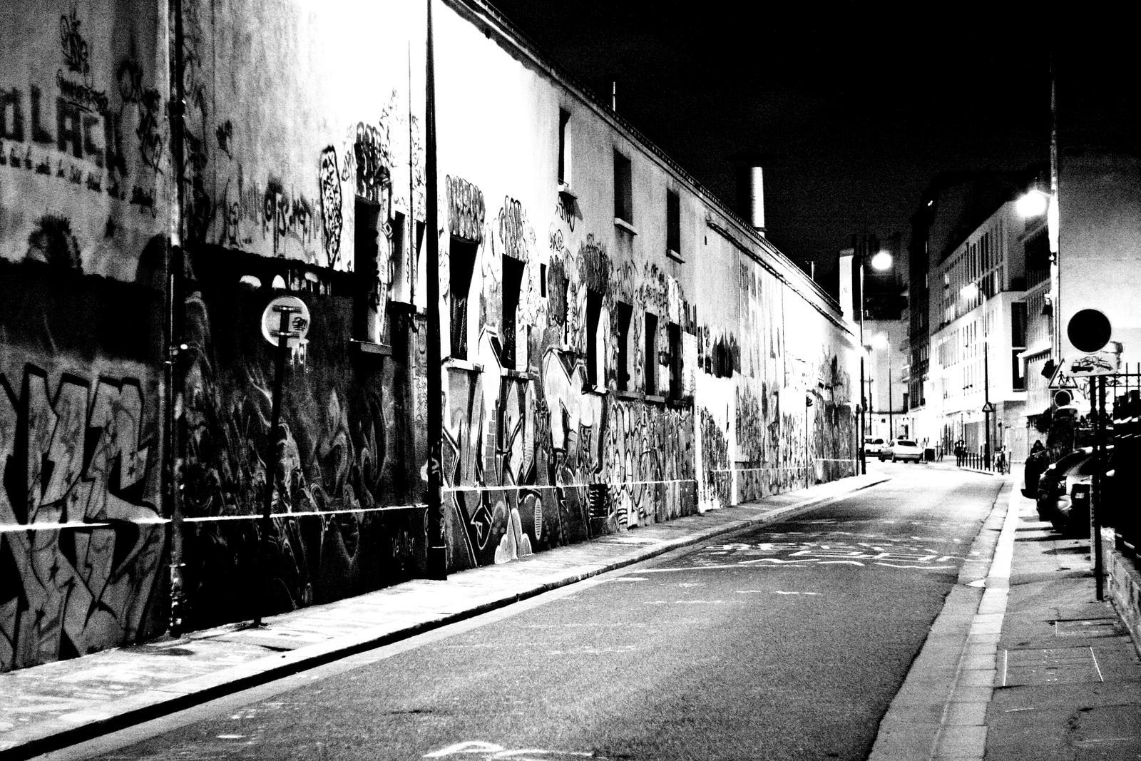 graffiti street (Paris) by tachioner on DeviantArt