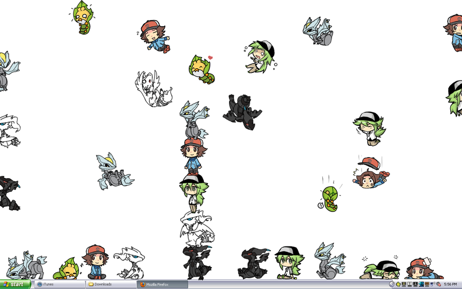 Pokemon Shimeji OVERLOAD by roxas431