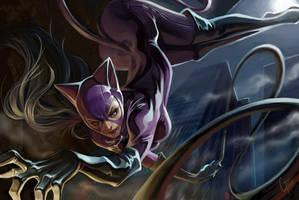 Catwoman by JimboBox
