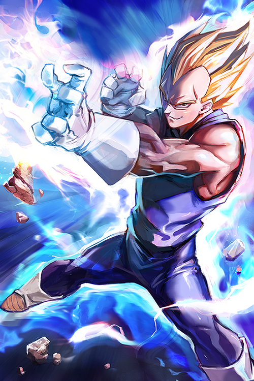 Vegeta by JimboBox