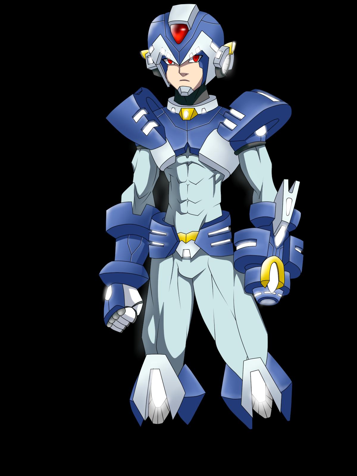 megaman X.... bad guy by RakinTor