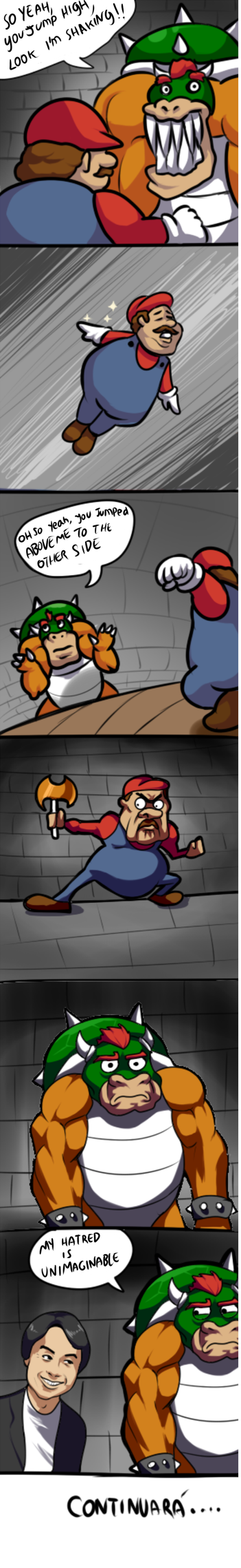 mario's adventures by RakinTor