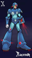megaman x fanart rakintor by RakinTor