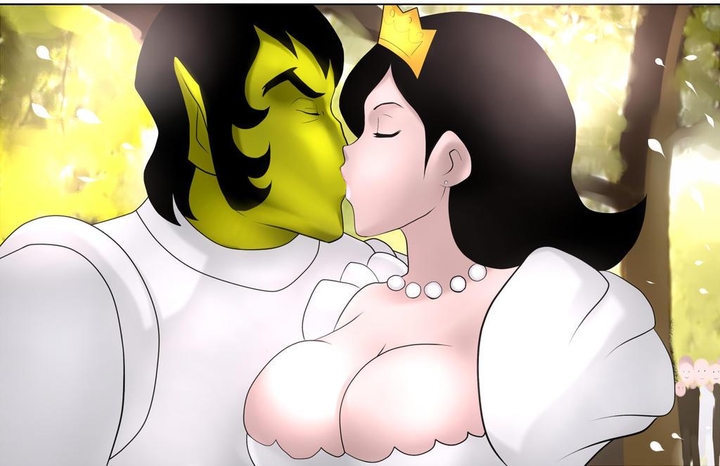 Jedda and Krotan married by zetarok