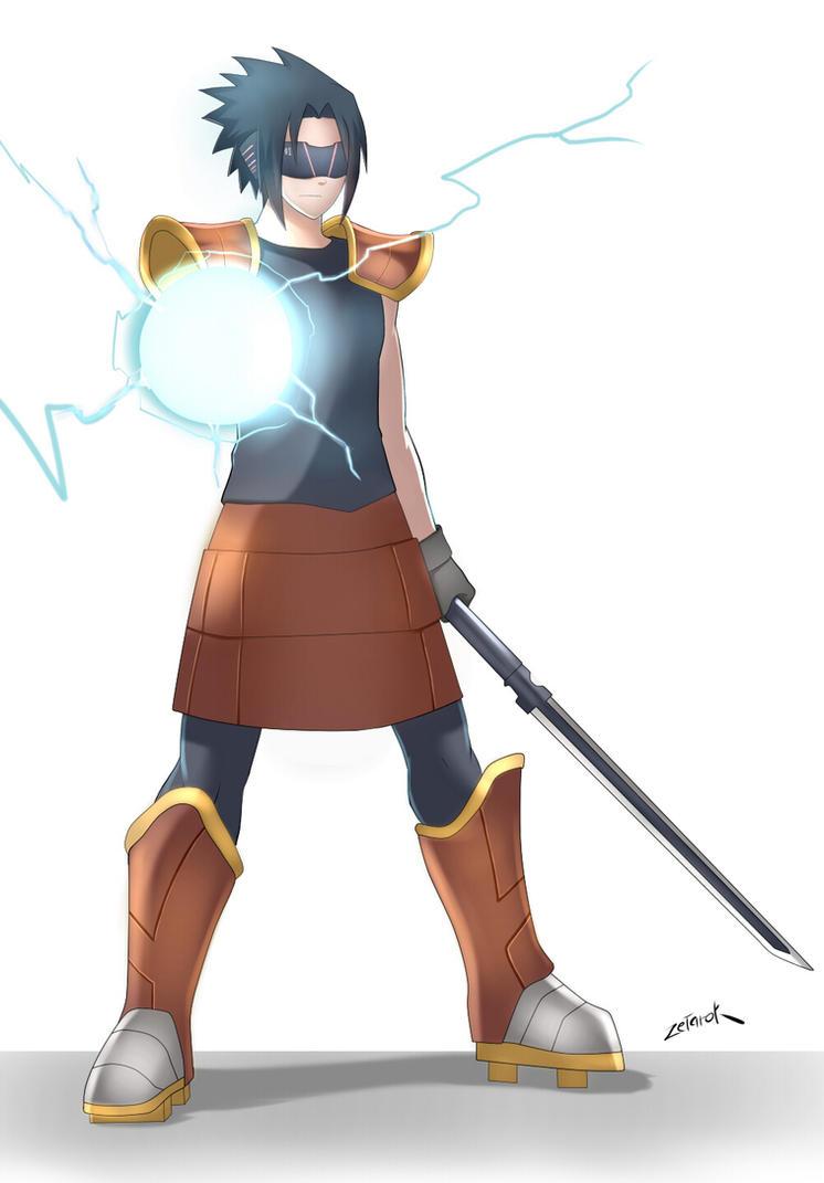 Sasuke Armor by zetarok