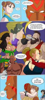Chun Li comic page 46 Complete