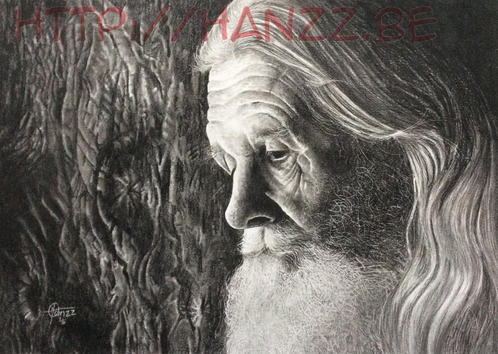 Elderman in memorylane by Hanzz-Art