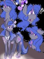 Cursed crystal pony Adopt (Closed) by PonyDoodleDayAdopts