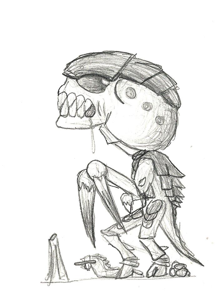 tyranids chibi by monkeypoke