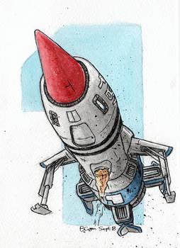 Thunderbird 1 - Arriving at Danger Zone!