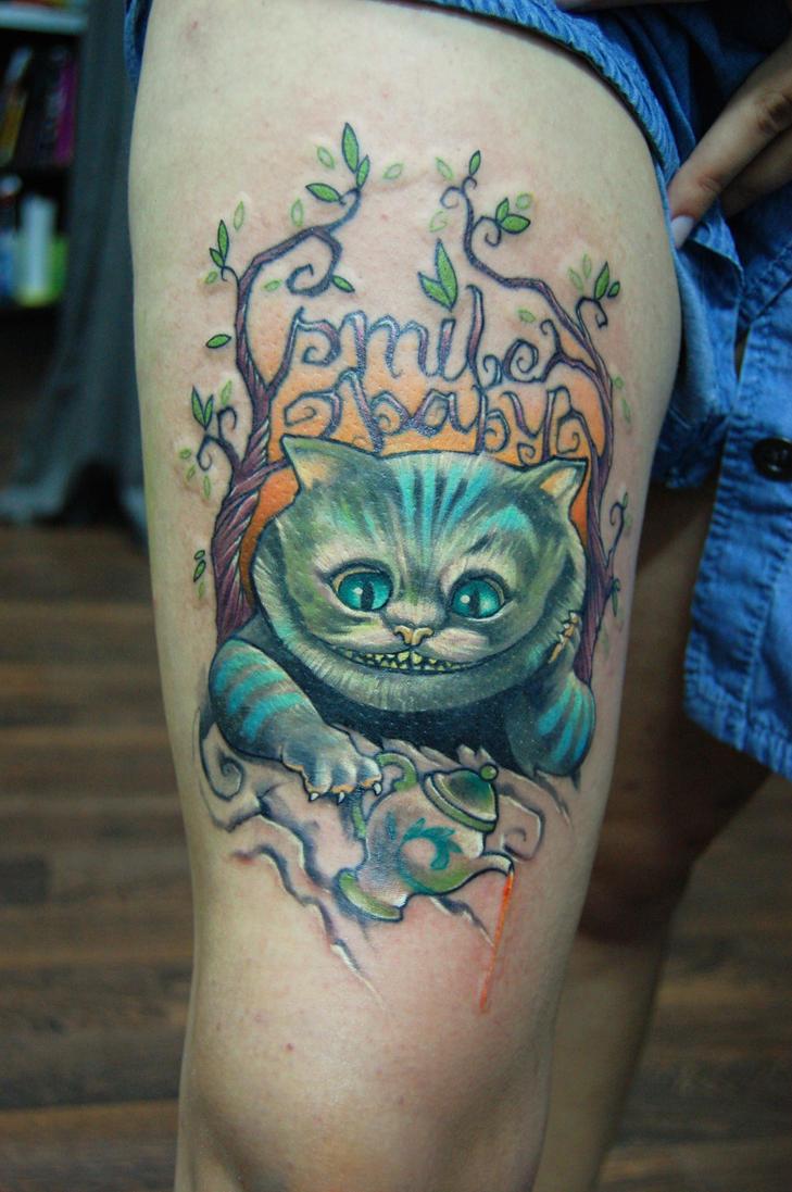 cheshire cat by jukan6
