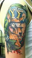 the deer by jukan6