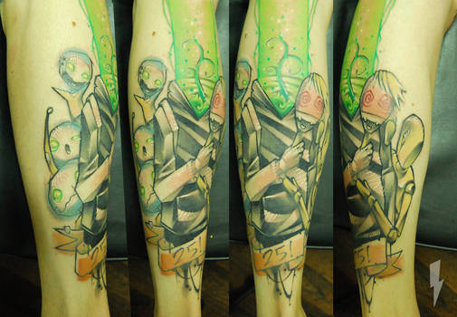 Tattoo walking